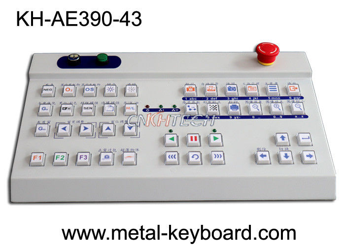 Ruggedized Desktop Keyboard in customize design for control platform and inspection device
